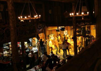 Country-Stimmung im Ghost City Saloon