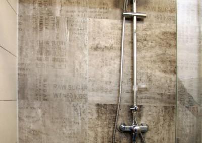 Regenwasserdusche